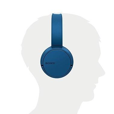 Sony Sony WH-CH500 Mavi Kablosuz Bluetooh Kulak Üstü Kulaklık Mavi